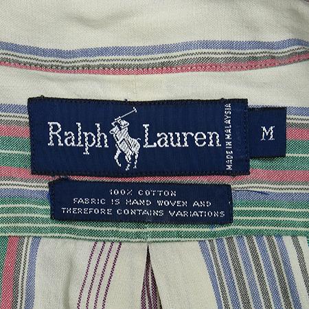 Polo Ralphlauren(폴로) 스트라이프 패턴 반팔 남방