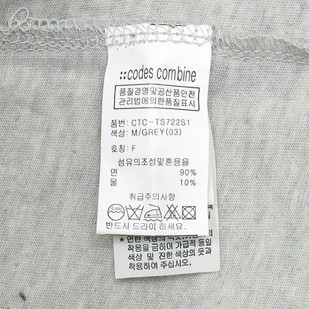 CODES COMBINE(코데즈컴바인) 루즈핏 라운드 티
