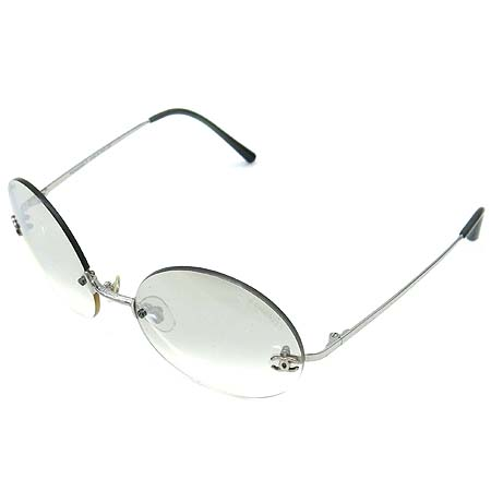 Chanel(샤넬) 4056 로고 장식 무테 선글라스