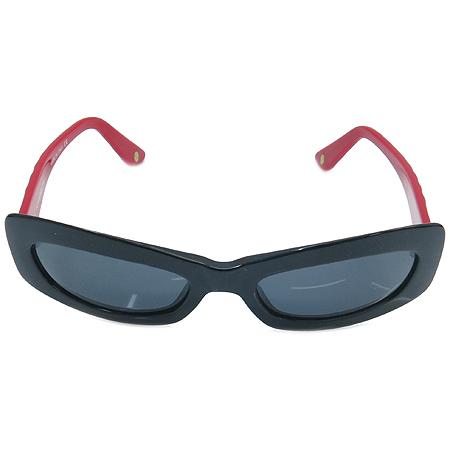 Chanel(샤넬) 5006 측면 로고 장식 투톤 뿔테 선글라스 이미지2 - 고이비토 중고명품