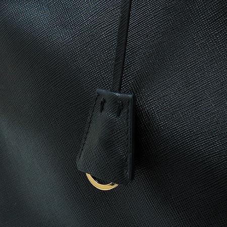 Prada(프라다) BN1844 블랙 사피아노 럭스 토트백 [명동매장]