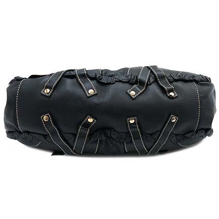 D&G(돌체&가바나) 블랙 래더 금장 장식 숄더백 [부산센텀본점] 이미지5 - 고이비토 중고명품
