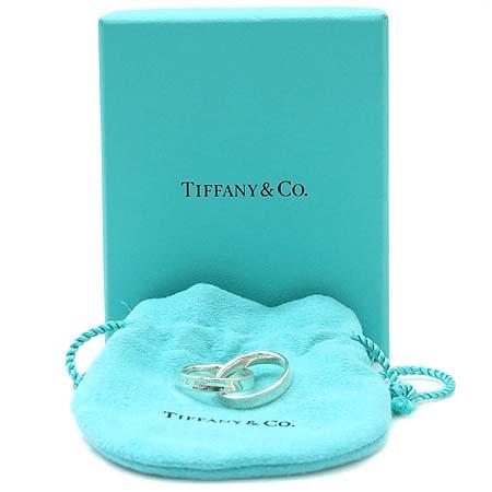 Tiffany(티파니) 925(실버) 인터락킹 더블링 반지 - 6호