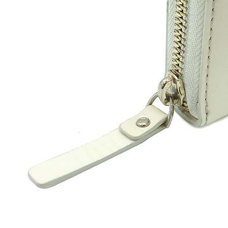 KATESPADE(케이트스페이드) 아이보리 페이던트 래더 집업 장지갑
