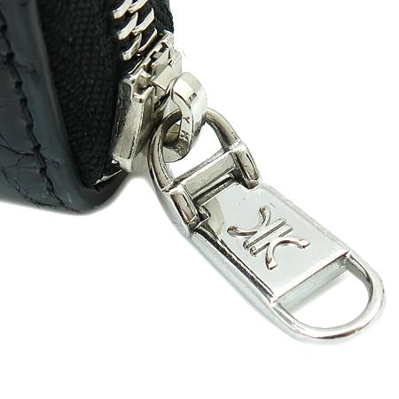 KWANPEN(콴펜) 블랙 크로커다일 짚업 장지갑 [명동매장] 이미지2 - 고이비토 중고명품