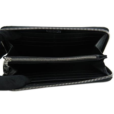 KWANPEN(콴펜) 블랙 크로커다일 짚업 장지갑 [명동매장] 이미지3 - 고이비토 중고명품