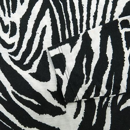 JESSI NEWYORK(제시뉴욕) 블랙 지브라 패턴 롱티