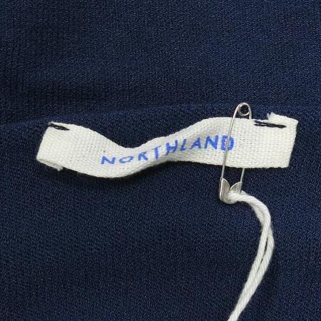 NORTHLAND(노스랜드) (MADE IN ITALY) 라운드넥 가오리 원피스