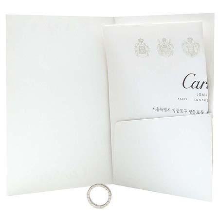 Cartier(까르띠에) B40450 18K 화이트 골드 라니에르 반지 - 9호 [동대문점]