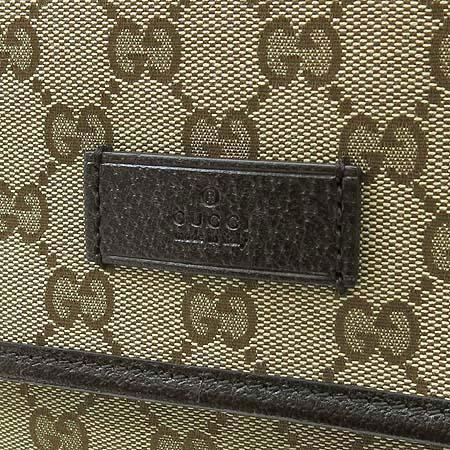 Gucci(구찌) 233052 GG 로고 자가드 삼색 스티치 크로스백 이미지4 - 고이비토 중고명품