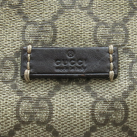 Gucci(구찌) 246881 GG로고 PVC 메신저 투포켓 크로스백