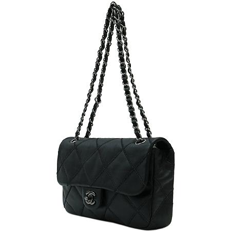 Chanel(샤넬) COCO 은장 로고 장식 스티치 은장 체인 숄더백 [명동매장] 이미지3 - 고이비토 중고명품