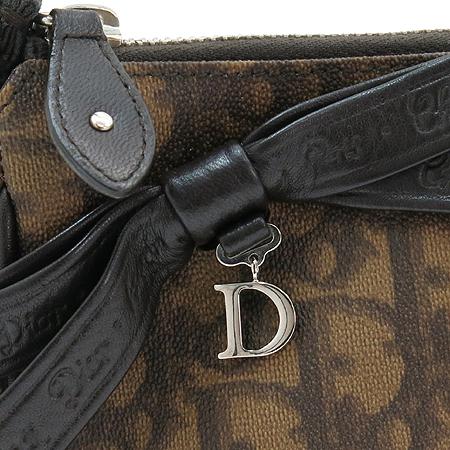 Dior(크리스챤디올) 리본 장식 로고 PVC 숄더백