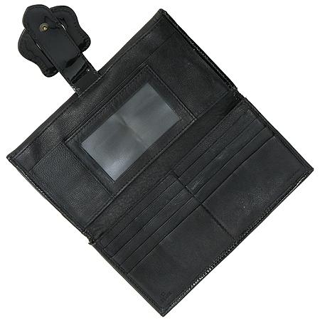 Fendi(펜디) 8M0032 B-FENDI 블랙 레더 버클 장식 장지갑 [강남본점] 이미지2 - 고이비토 중고명품