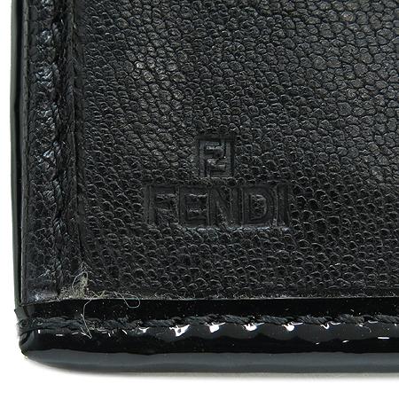 Fendi(펜디) 8M0032 B-FENDI 블랙 레더 버클 장식 장지갑 [강남본점] 이미지4 - 고이비토 중고명품