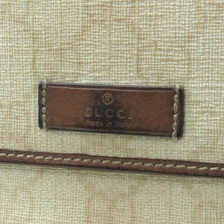 Gucci(구찌) 190337 GG로고 PVC 3단 중지갑