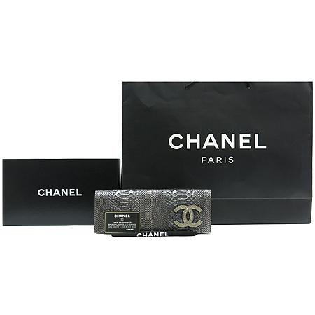 Chanel(샤넬) A65016Y07335 한정판 COCO 로고 파이손 이브닝 클러치백