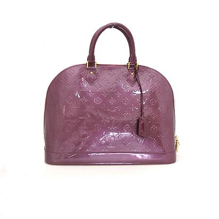 Louis Vuitton(루이비통) M93594 모노그램 베르니 바이올렛 알마 GM 토트백 [대전본점]