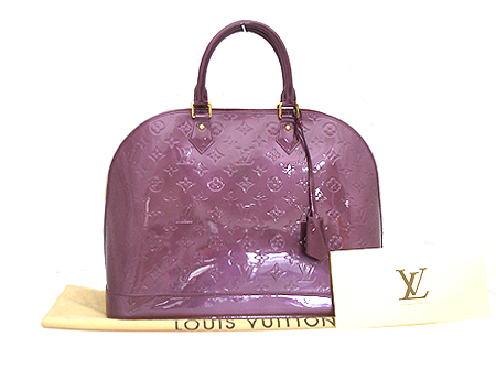 Louis Vuitton(루이비통) M93594 모노그램 베르니 바이올렛 알마 GM 토트백 [대전본점] 이미지5 - 고이비토 중고명품