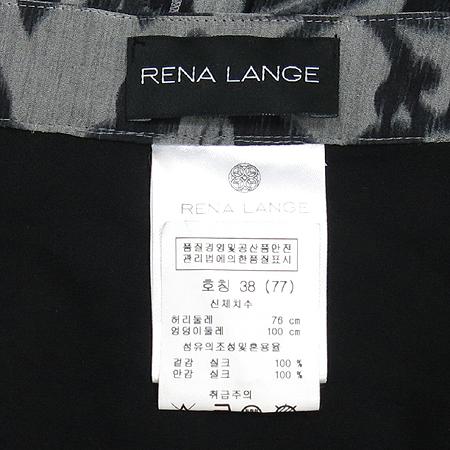 RENA LANGE(레나랭) 블랙 그레이 실크 스커트 [강남본점] 이미지4 - 고이비토 중고명품