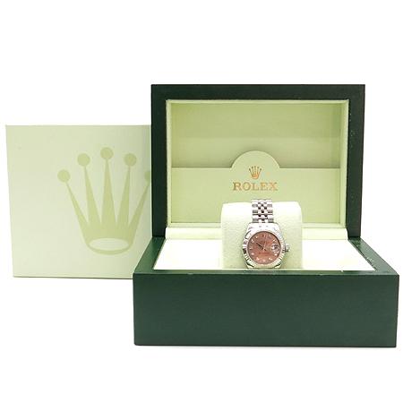 Rolex(로렉스) 179174 10포인트 다이아 핑크판 스틸 DATEJUST(데이저스트) 여성용 시계 이미지2 - 고이비토 중고명품