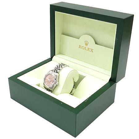 Rolex(로렉스) 179174 10포인트 다이아 핑크판 스틸 DATEJUST(데이저스트) 여성용 시계 이미지3 - 고이비토 중고명품