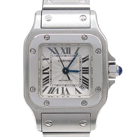 Cartier(까르띠에) 산토스 S 사이즈 오토매틱 스틸 여성용 시계 [압구정매장]