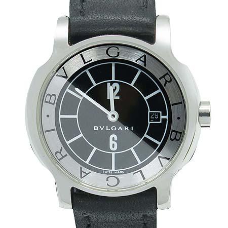 Bvlgari(불가리) ST29S 솔로템포 가죽밴드 여성용 시계 [명동매장]