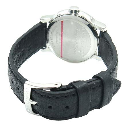 Bvlgari(불가리) ST29S 솔로템포 가죽밴드 여성용 시계 [명동매장] 이미지4 - 고이비토 중고명품