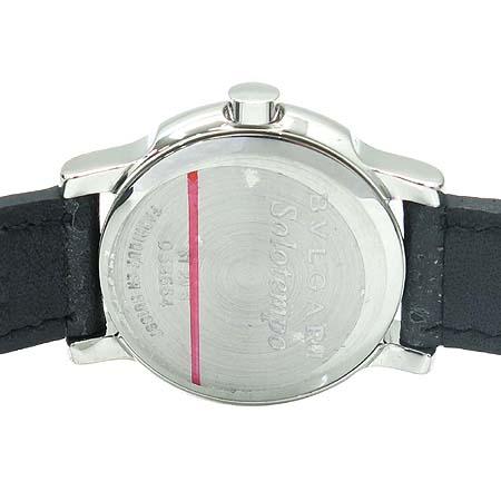 Bvlgari(불가리) ST29S 솔로템포 가죽밴드 여성용 시계 [명동매장] 이미지5 - 고이비토 중고명품