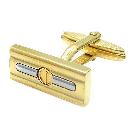 Dunhill(던힐) 금장 커브스 버튼