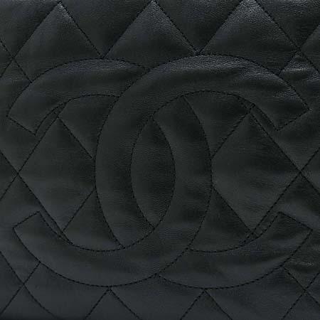 Chanel(샤넬) A47919Y06289C0229 은장 체인 램스킨 화이트 스티치 숄더백