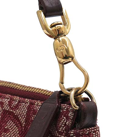 Dior(크리스챤디올) 데님 새들 파우치 숄더백