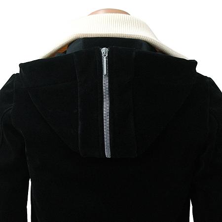 Balenciaga(발렌시아가) 벨벳 블루종 후드 점퍼 이미지3 - 고이비토 중고명품