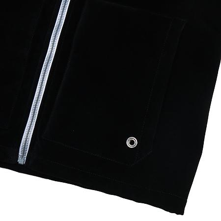 Balenciaga(발렌시아가) 벨벳 블루종 후드 점퍼 이미지6 - 고이비토 중고명품