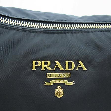 Prada(프라다) BR4303 금장 로고 블랙 패브릭 2WAY [부천 현대점]