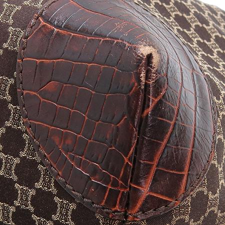 Celine(셀린느) 블라종 로고 크로커다일 패턴 레더 트리밍 쇼퍼 토트백 이미지5 - 고이비토 중고명품