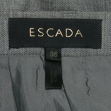 Escada(에스까다) 그레이 컬러 스커트