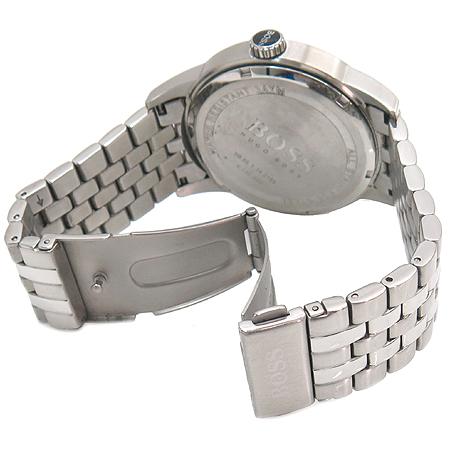 Hugo Boss(휴고보스) HB85.1.14.2185 라운드 스틸 데이트 쿼츠 남성 시계