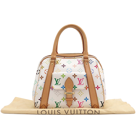 Louis Vuitton(루이비통) M40096 모노그램 멀티 화이트 프리실라 토트백 이미지2 - 고이비토 중고명품