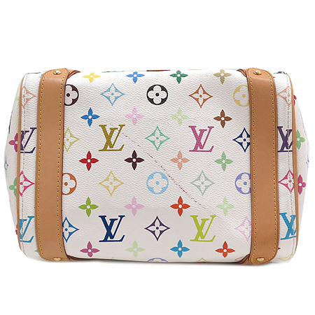 Louis Vuitton(루이비통) M40096 모노그램 멀티 화이트 프리실라 토트백 이미지5 - 고이비토 중고명품