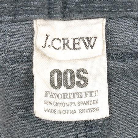 JCREW(제이크루) 그레이 코드류이 바지