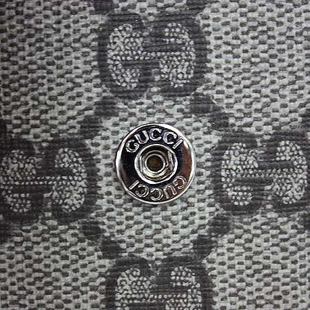 Gucci(구찌) 240188 GG로고 PVC 다크 브라운 레더 아이폰 케이스 [명동매장]