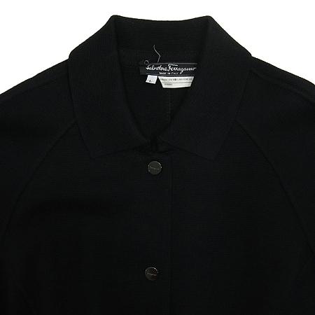 Ferragamo(페라가모) 블랙 니트 가디건