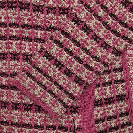System(시스템) 핑크 롱 니트 가디건