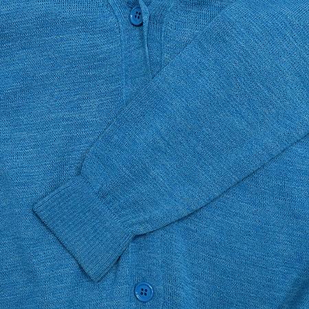 System(시스템) 블루 니트 가디건
