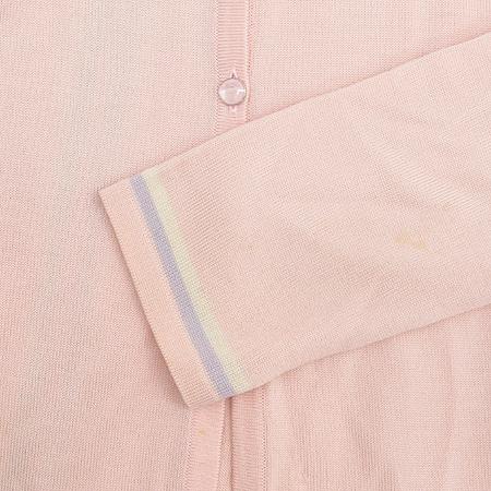 Escada(에스까다) 핑크 컬러 카라 가디건
