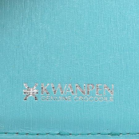 KWANPEN(콴펜) SLGCNC 816 OCEAN(오션) 크로커다일 반지갑