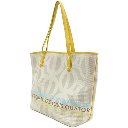 Louis_Quatorze(루이까또즈) 로고 PVC 쇼퍼 숄더백 + 보조 파우치 이미지3 - 고이비토 중고명품