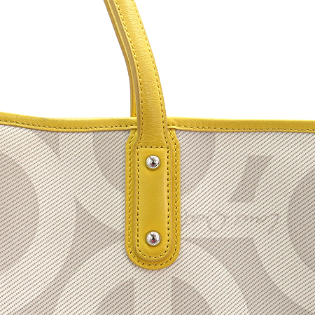 Louis_Quatorze(루이까또즈) 로고 PVC 쇼퍼 숄더백 + 보조 파우치 이미지4 - 고이비토 중고명품